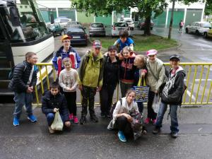 Néptánc tábor indulás - május 3